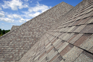 Homes roofed with asphalt shingles in Elgin